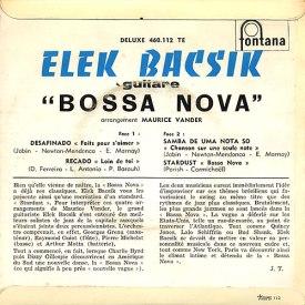Elek Bacsik - Bossa Nova (1960) b