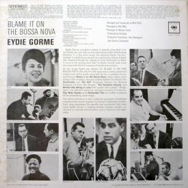 Eydie Gormé - Blame it on the Bossa Nova (1963) b