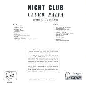 Lauro Paiva - Night Club (1959) b