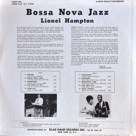 Lionel Hampton - Bossa Nova Jazz (1963) b