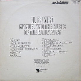 Manuel and the Music from the Mountains - El Bimbo (1975) b