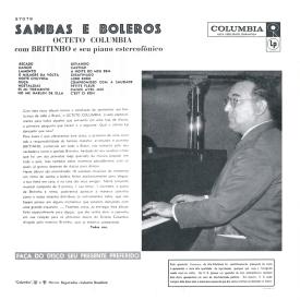 Octeto Columbia & João Leal Brito 'Britinho' - Sambas e Boleros (1959) b