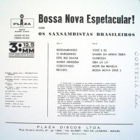 Os Saxsambistas Brasileiros - Bossa Nova Espetacular (1962) b