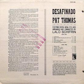 Pat Thomas - Desafinado (1962) b