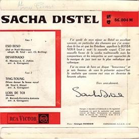 Sacha Distel - Sacha Bossa Nova (1962) b