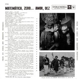 Various - Matemática, Zero… Amor, Dez (1959) b