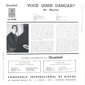 Zé Maria - Você Quer Dançar (1959) b