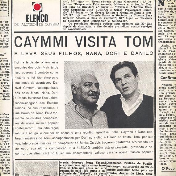 Antonio Carlos Jobim & Dorival Caymmi - Caymmi Visita Tom (1965, Elenco ME-17) a