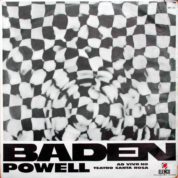 Baden Powell - Ao Vivo no Teatro Santa Rosa (1966, Elenco ME-30) a