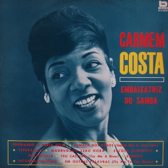 Carmen Costa - Embaixatriz do Samba (1963) a
