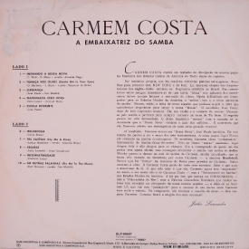 Carmen Costa - Embaixatriz do Samba (1963) b