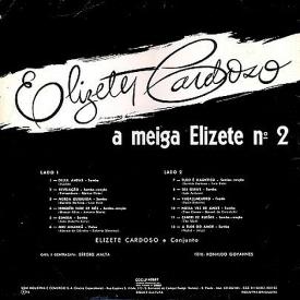 Elizete Cardoso - A Meiga Elizete No. 2 (1961) b