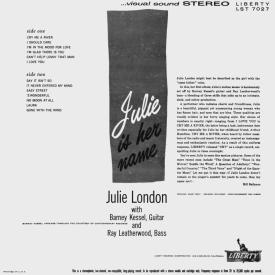 Julie London - Julie Is Her Name (1955) b