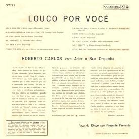 Roberto Carlos - Louco por Você (1961) b
