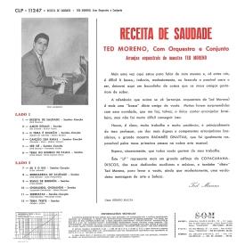 Ted Moreno - Receita de Saudade (1962) b