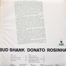 Various - Bud Shank Donato Rosinha (1965, Elenco MEV-8) b