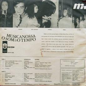 Various - Musicanossa O Som & O Tempo (1968, Odeon MOFB-3532) b