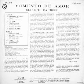 Elizeth Cardoso - Momento de Amor (1968) b