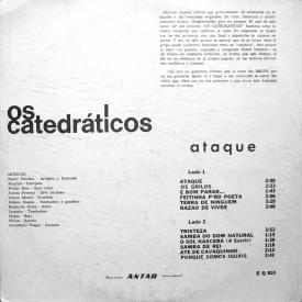 Eumir Deodato & Os Catedráticos — Ataque (1965) b
