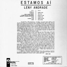 Leny Andrade - Estamos Aí (1965) b