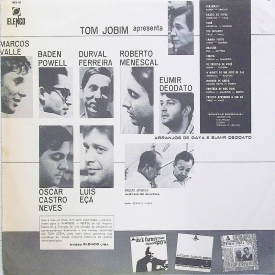 Lindolfo Gaya & Eumir Deodato - Tom Jobim Apresenta (1966) b