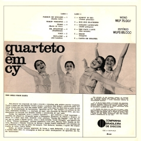 Quarteto em Cy - The Girls from Bahia (1967) b