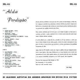 Alda Perdigão - Alda Perdigão (1961) b