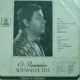 Altemar Dutra - O Romântico (1970) b