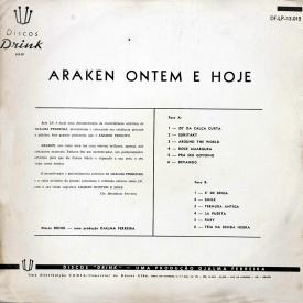 Araken Peixoto - Araken Ontem e Hoje (1961) b
