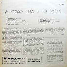 Bossa Três & Jo Basile - Os Bossa Três & Jo Basile (1963) b