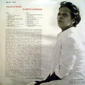 Elizeth Cardoso - Falou e Disse (1970) b