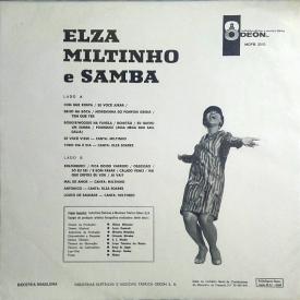 Elza Soares & Miltinho - Elza, Miltinho e Samba (1967) b