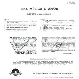 Gaúcho - Rio, Música e Amor (1960) b