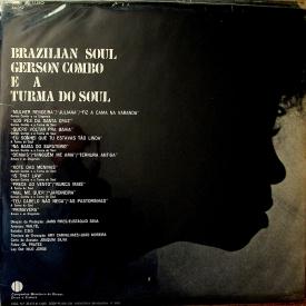 Gerson King Combo, Turma do Soul, Amaro & Os Diagonais - Brazilian Soul (1970) b