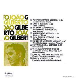 João Gilberto - João Gilberto (1973) b