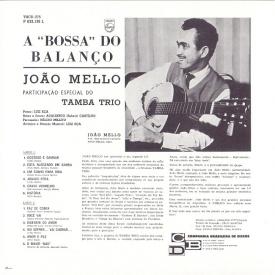 João Mello & Tamba Trio - A Bossa do Balanço (1963) b