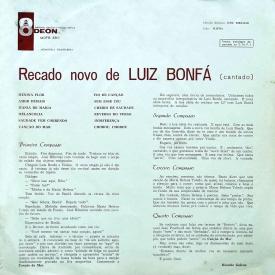 Luiz Bonfá - Recado Novo de Luiz Bonfá (1963) b
