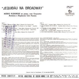 Mário Albanese - Jequibáu na Broadway (1967) b