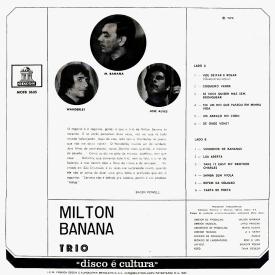 Milton Banana - Milton Banana Trio (1970) b