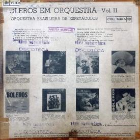Orquestra Brasileira de Espetáculos - Boleros em Orquestra Vol. 2 (1962) b