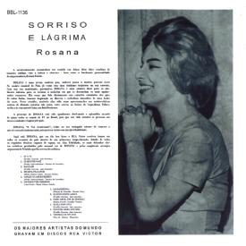 Rosana Tolédo - Sorriso e Lágrima (1961) b