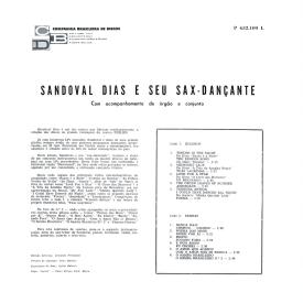 Sandoval Dias - Sandoval Dias e Seu Sax Dançante (1962) b