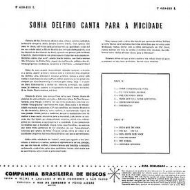 Sônia Delfino - Sônia Delfino Canta Para a Mocidade (1960) b