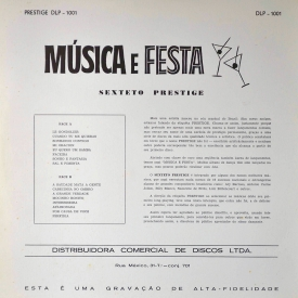 Sexteto Prestige - Música e Festa (1958) b