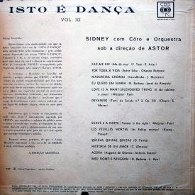 Sidney - Isto é Dança Vol. 3 (1963) b