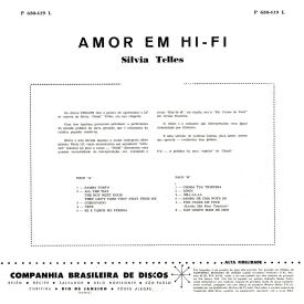 Sylvia Telles - Amor em Hi-Fi (1960) b