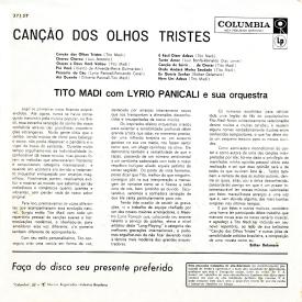 Tito Madi - Canção dos Olhos Tristes (1961) b