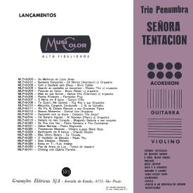 Trio Penumbra - Señora Tentación (1962) b