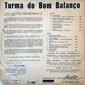 Turma do Bom Balanço - A Turma do Bom Balanço (1965) b