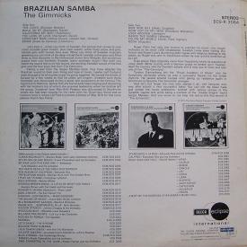 The Gimmicks - Brazilian Samba (1969) b